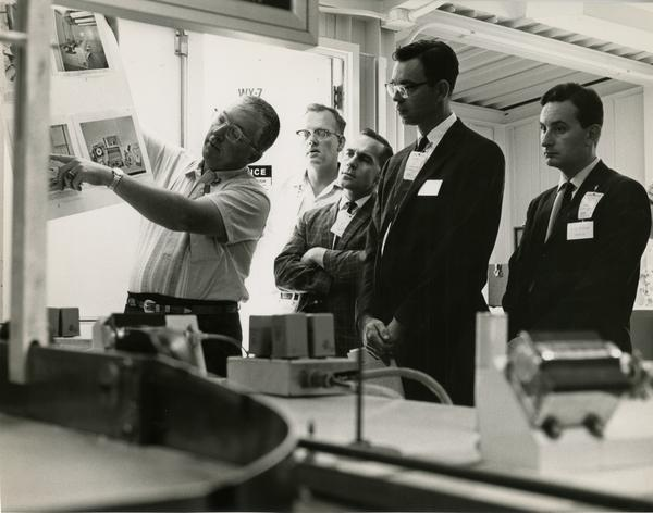 Members of the Defense Science Seminar at the Los Alamos National Lab, ca. 1965