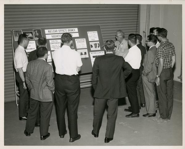 Defense Science seminar at the White Sands Missile Range, ca. 1965