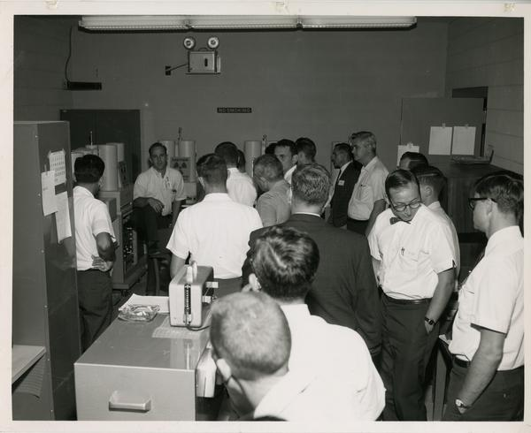 Defense Science seminar at the White Sands Missile Range, ca. 1965