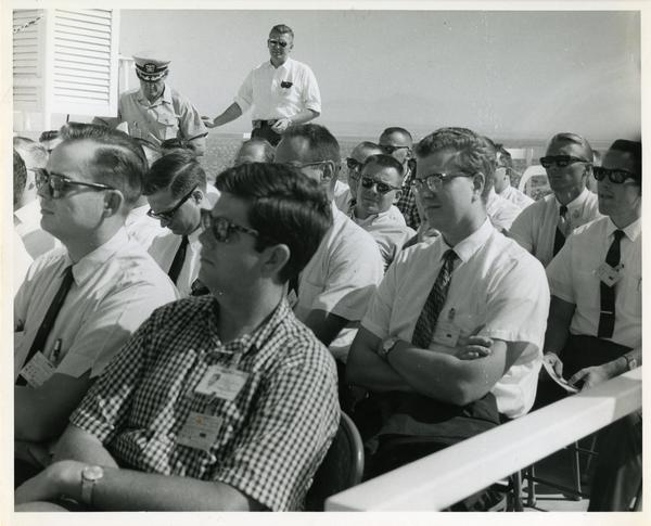 Members of the Defense Science Seminar at the Naval Ordnance Test Station, ca. 1965