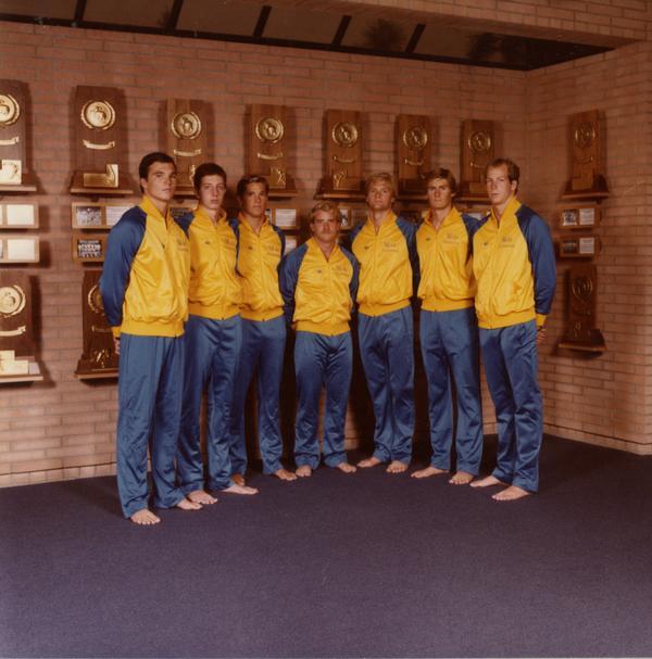 1981 Diving Team