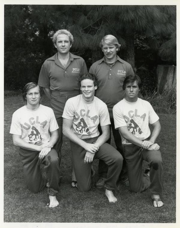 Informal picture of the 1981 Diving Team