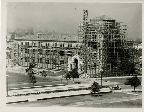 Construction of Dodd Hall, 1948