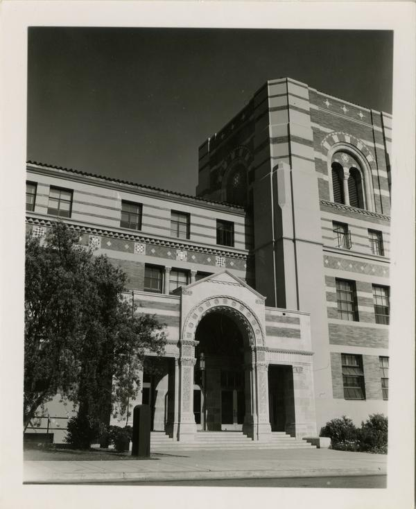 Dodd Hall exterior after construction