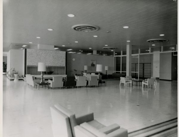 Interior of Dykstra Hall