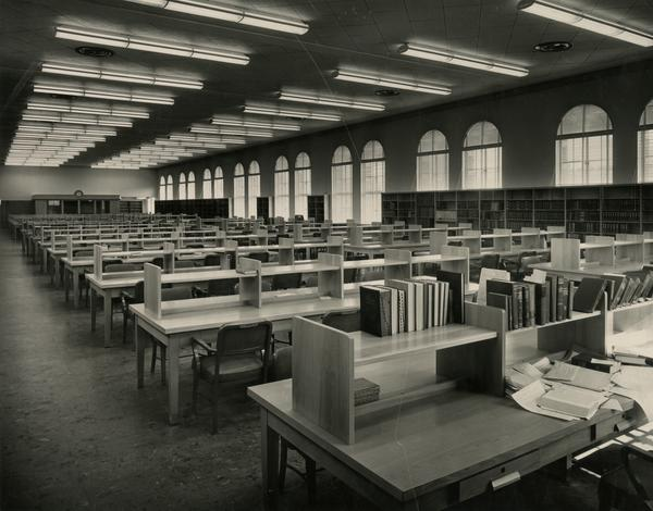 Interior of the east wing of the Education/Psychology Library