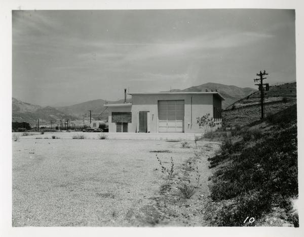 View of building on Engineering department launching site