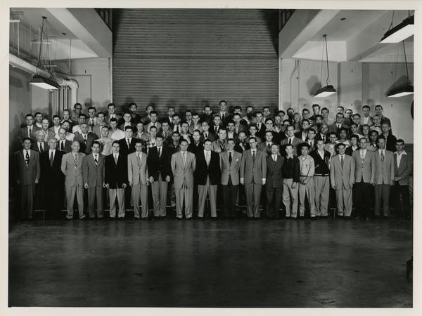 Men of the engineering department