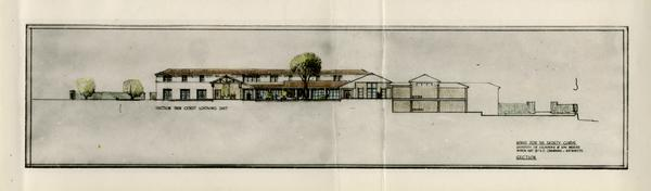 Architectual rendering of House for the Faculty Clubs