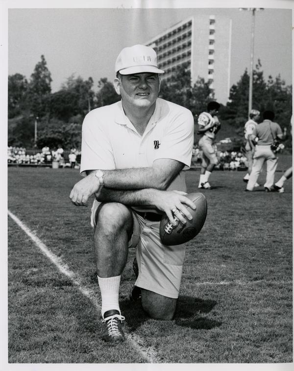 UCLA assistant football coach Jerry Long