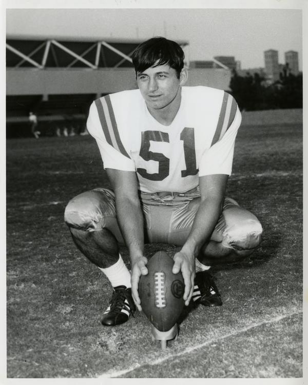 UCLA kicking specialist Zenon Andrusyshyn, 1967-1969