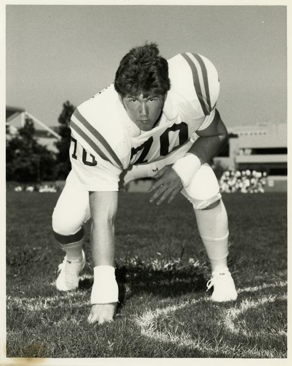UCLA football player Gregg Christiansen