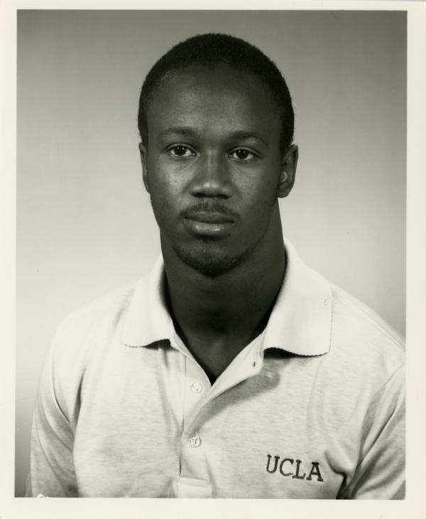 UCLA football player Walter Lang