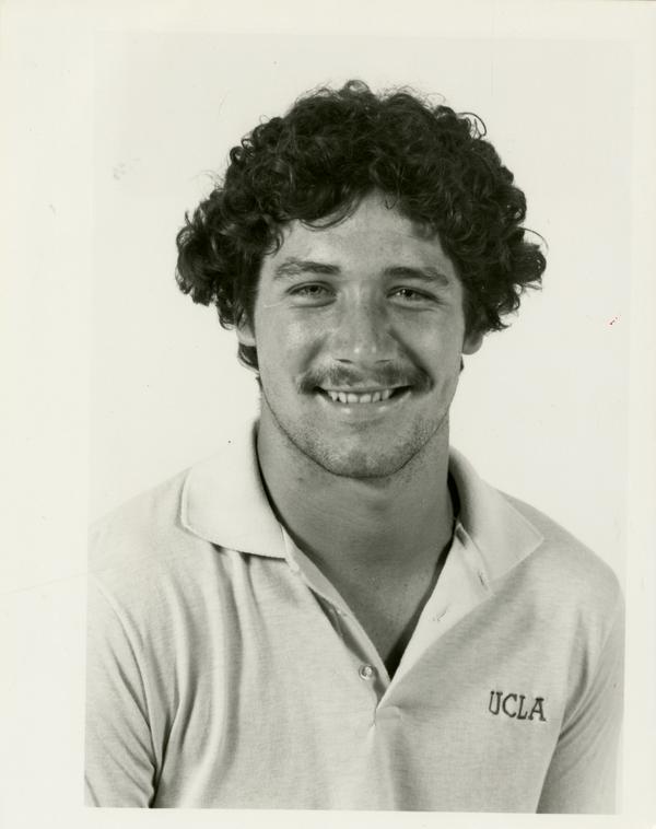 UCLA football player Jim Mastera