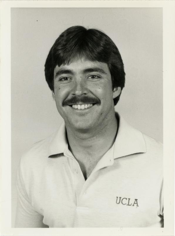 UCLA football player Tom Ramsey