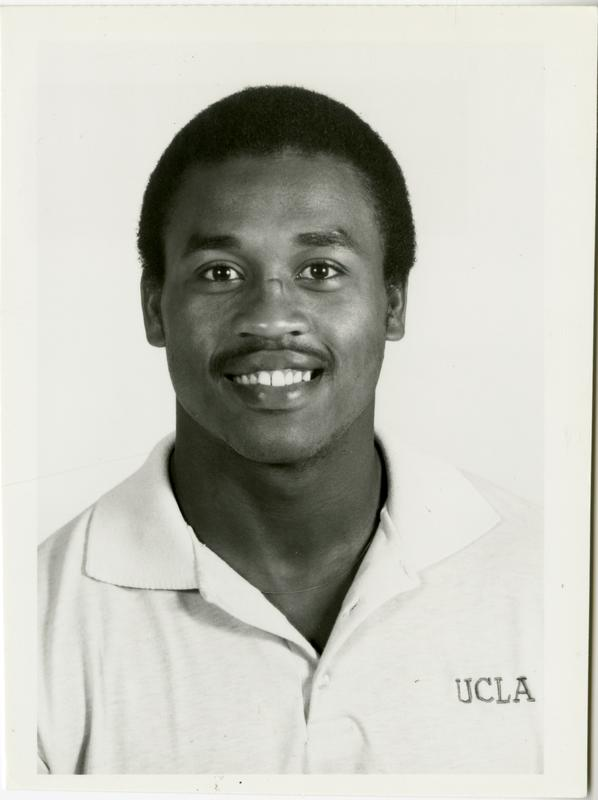 UCLA football player Jimmy Turner