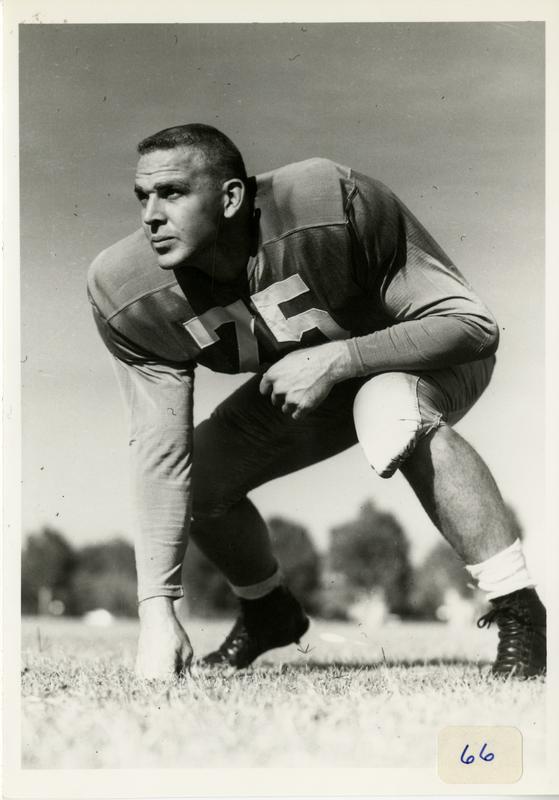 UCLA football player Benjamin Warner