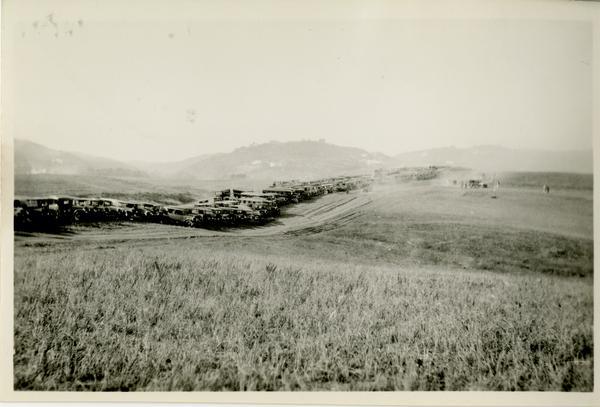 View of the Westwood Campus, October 1926