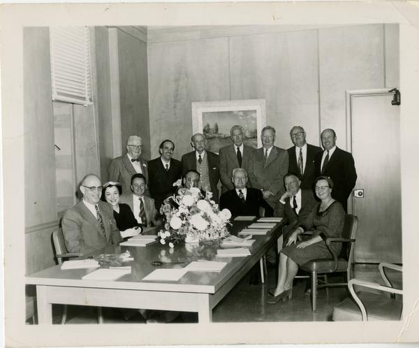 Founding group of the Friends of the UCLA Library