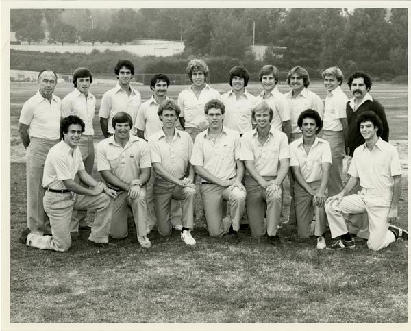 Varsity Golf Team Photo, 1981