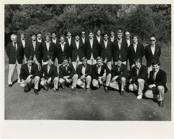 Golf Team Photo, 1984