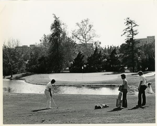 Golfers at the Bel Air Country Club