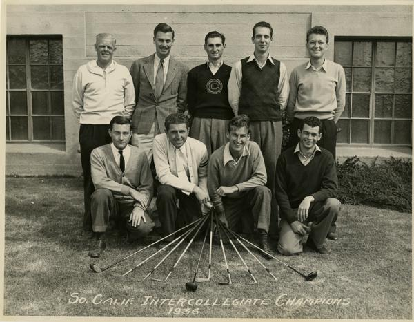 Golf Team Photo, 1936