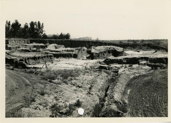 Site of Open Air Theatre, June 1936
