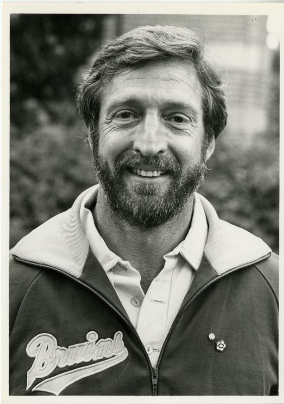 Art Shurlock, UCLA gymnastics coach, November 20, 1981