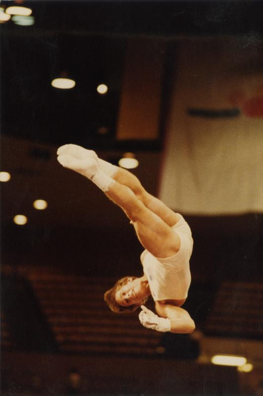 UCLA Gymnast Tim Daggett