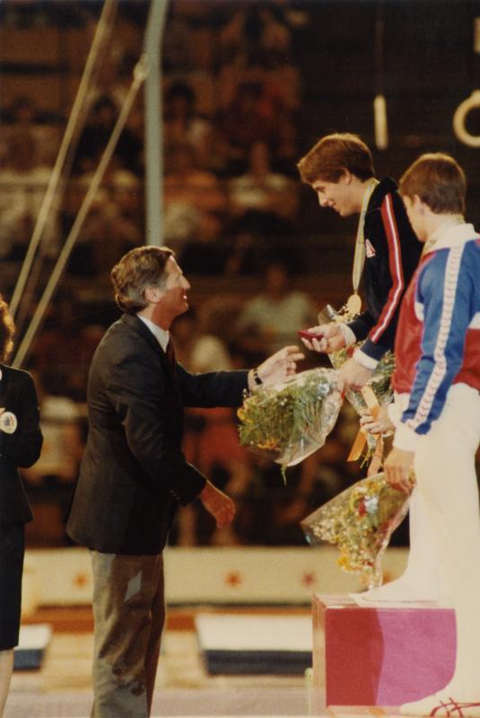 UCLA Gymnast Tim Daggett