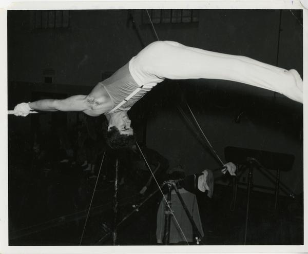 UCLA gymnast John Hart
