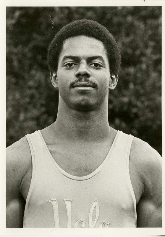 UCLA gymnast Carlos Spivey