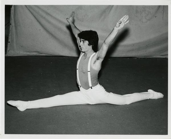 UCLA gymnast Alan Toplizky