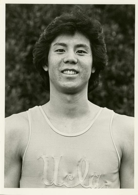 UCLA gymnast Les Yee