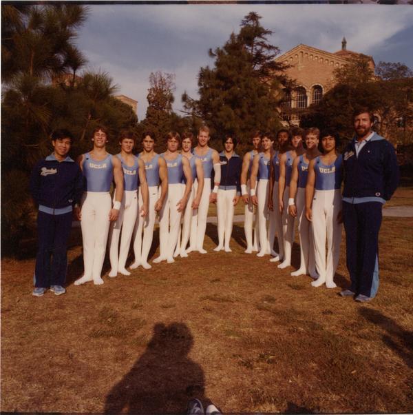 UCLA Men's Gymnast Team, 1982