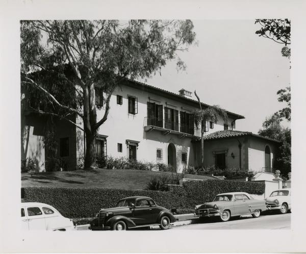 View of Mira Hershey Hall, June 7, 1954