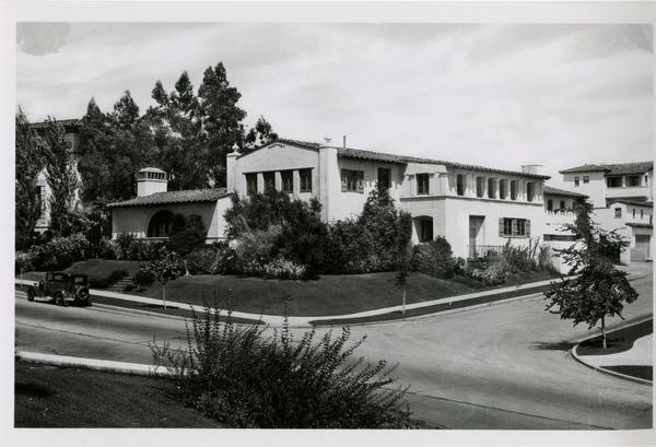 View of Kappa Kappa Gamma house