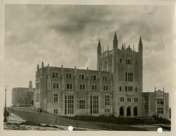 View of Kerckhoff Hall, ca. 1930