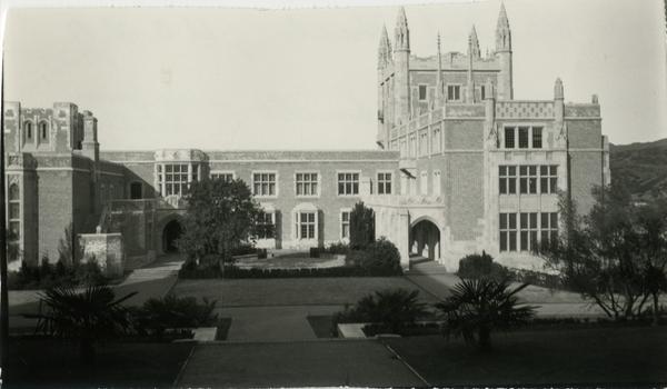 View of Kerckhoff Hall, 1927