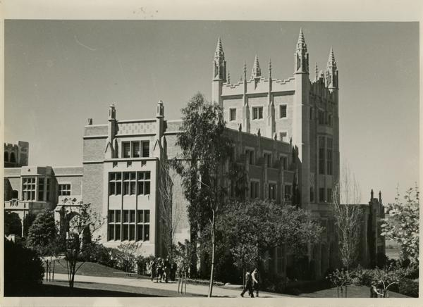 View of Kerckhoff Hall, ca. 1934
