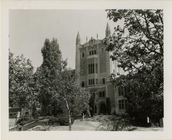 View of Kerckhoff Hall, August 1951