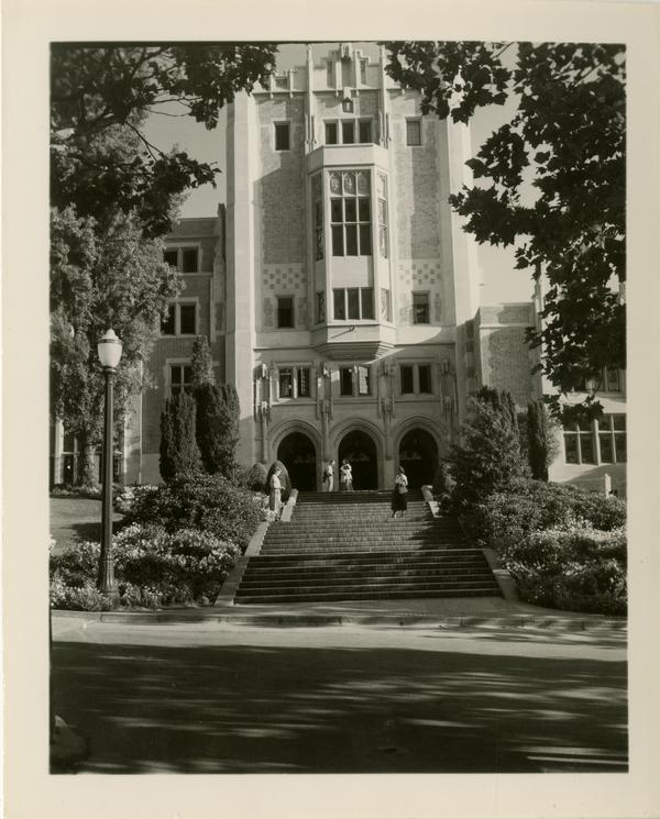 View of Kerckhoff Hall, July 1949