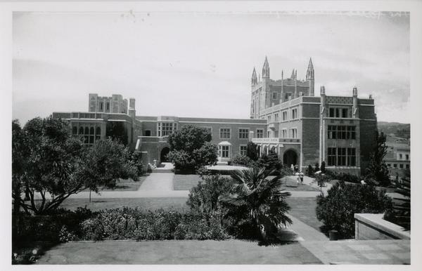 View of Kerckhoff Hall