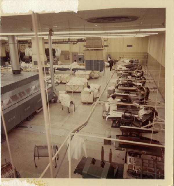 Employees of the UCLA Laundry Facility