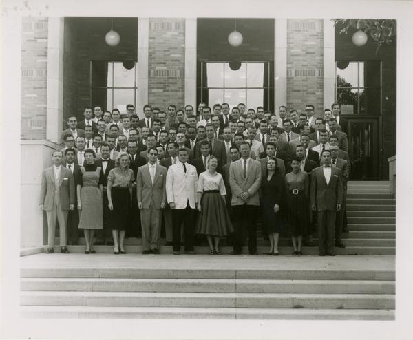 Law School second year class, March 12, 1958