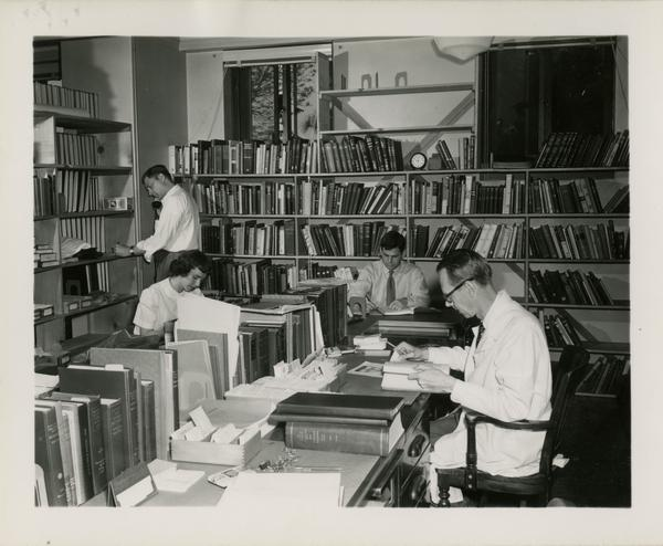 Biomedical Library staff, ca. 1951