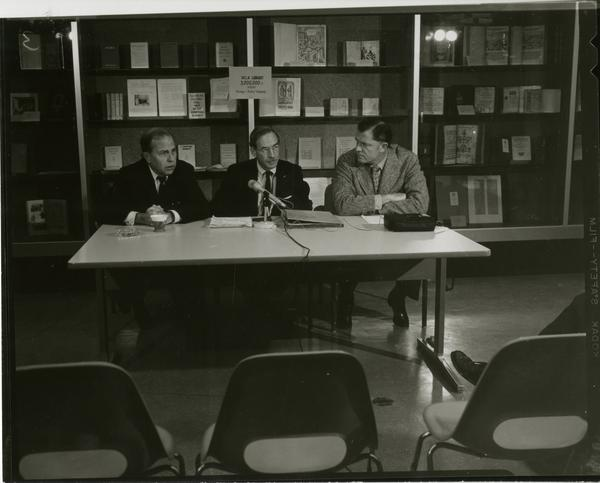 Three millionth book accessioned by UCLA Library press conference