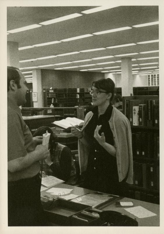 Library Reference Department Staff