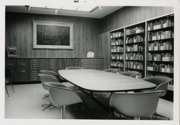 The Smith Room in Library Special collections